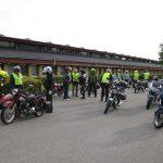 Samling i Kalundborg inden afgang til Røsnæs