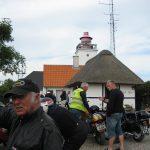 Henning Bang giver information ved Fyret
