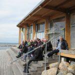 Madpakken indtages ved nyt fælleshus på Røsnæs Havn